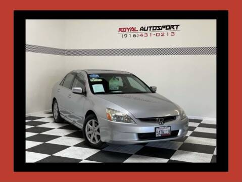2003 Honda Accord for sale at Royal AutoSport in Sacramento CA