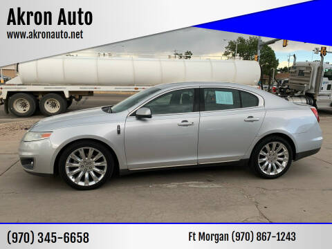 2009 Lincoln MKS for sale at Akron Auto in Akron CO