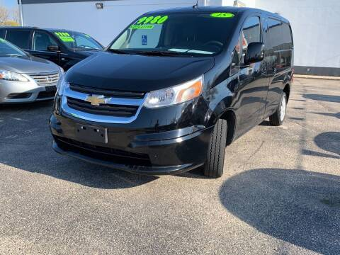 2015 Chevrolet City Express Cargo for sale at HIGHLINE AUTO LLC in Kenosha WI