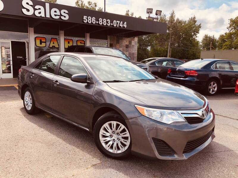 2014 Toyota Camry for sale at Daniel Auto Sales inc in Clinton Township MI