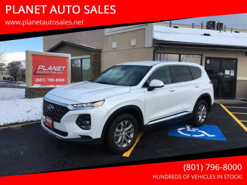 2019 Hyundai Santa Fe for sale at PLANET AUTO SALES in Lindon UT