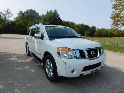 2010 Nissan Armada for sale at Lot 31 Auto Sales in Kenosha WI