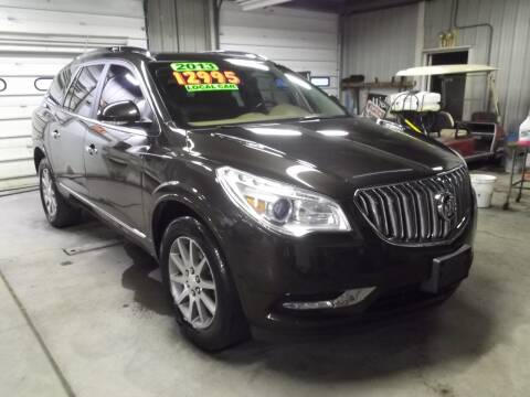 2013 Buick Enclave for sale at Dietsch Sales & Svc Inc in Edgerton OH