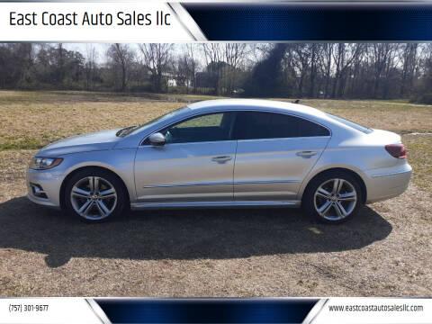 2016 Volkswagen CC for sale at East Coast Auto Sales llc in Virginia Beach VA
