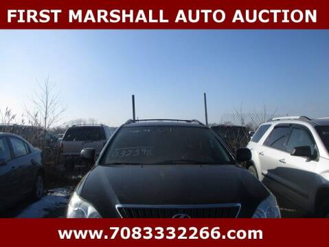 2004 Lexus RX 330 for sale at First Marshall Auto Auction in Harvey IL
