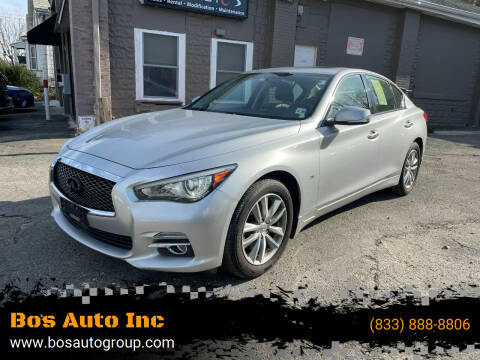 2015 Infiniti Q50 for sale at Bos Auto Inc in Quincy MA