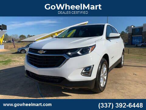 2018 Chevrolet Equinox for sale at GoWheelMart in Leesville LA