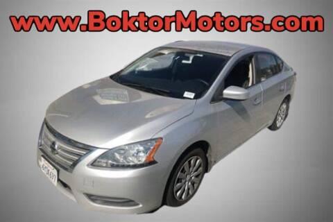 2013 Nissan Sentra for sale at Boktor Motors in North Hollywood CA