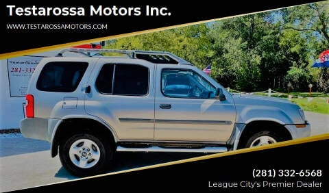2003 Nissan Xterra for sale at Testarossa Motors Inc. in League City TX