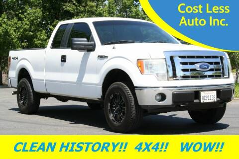 2011 Ford F-150 for sale at Cost Less Auto Inc. in Rocklin CA