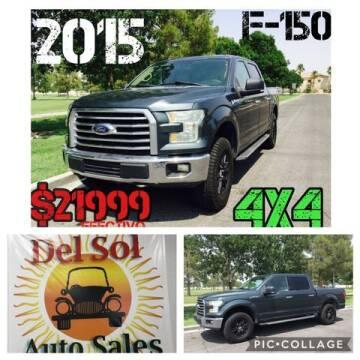 2015 Ford F-150 for sale at Del Sol Auto Sales in Las Vegas NV
