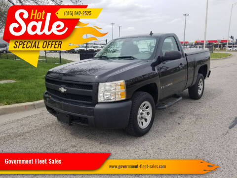2008 Chevrolet Silverado 1500 for sale at Government Fleet Sales in Kansas City MO