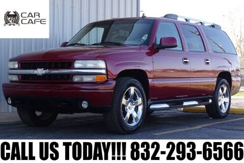 2006 Chevrolet Suburban for sale at CAR CAFE LLC in Houston TX