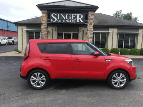 2014 Kia Soul for sale at Singer Auto Sales in Caldwell OH