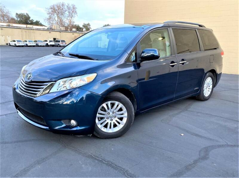 2011 Toyota Sienna for sale at TOP QUALITY AUTO in Rancho Cordova CA