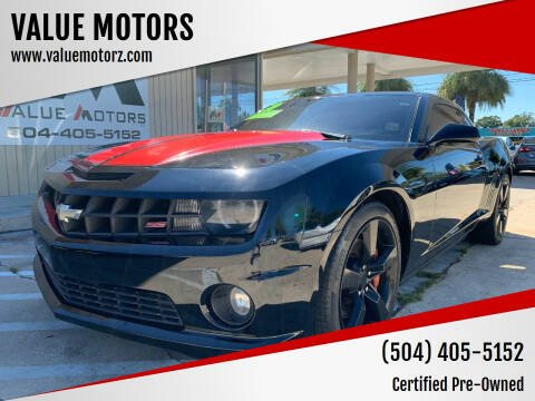 2010 Chevrolet Camaro for sale at VALUE MOTORS in Kenner LA