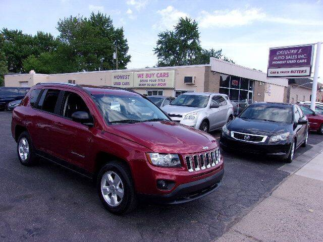 2014 Jeep Compass for sale at Gregory J Auto Sales in Roseville MI