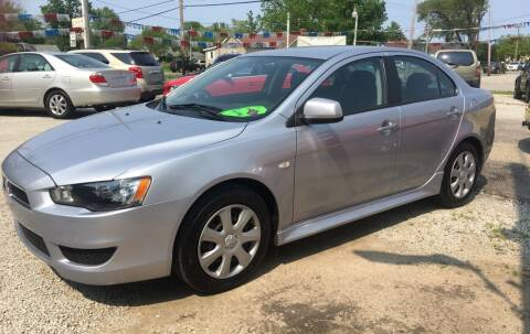 2014 Mitsubishi Lancer for sale at Antique Motors in Plymouth IN