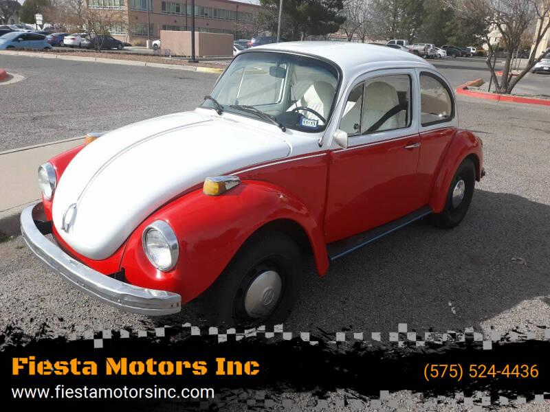 1973 Volkswagen Super Beetle for sale at Fiesta Motors Inc in Las Cruces NM