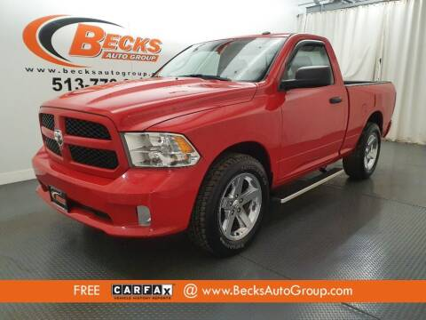 2017 RAM Ram Pickup 1500 for sale at Becks Auto Group in Mason OH