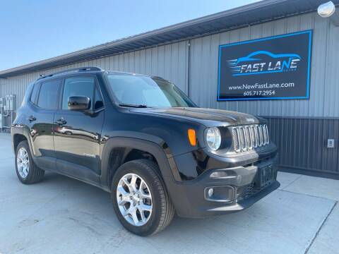 2018 Jeep Renegade for sale at FAST LANE AUTOS in Spearfish SD