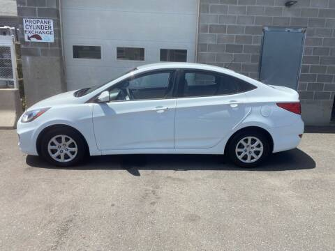 2012 Hyundai Accent for sale at Pafumi Auto Sales in Indian Orchard MA
