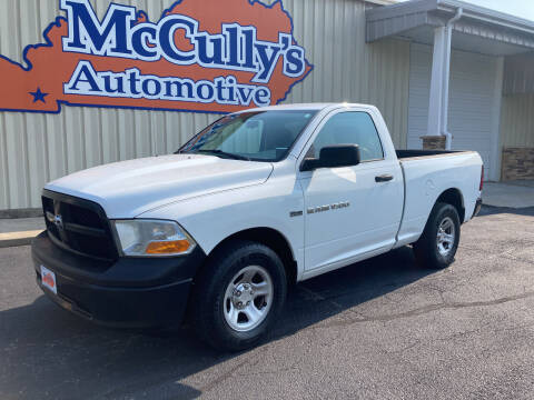 2012 RAM Ram Pickup 1500 for sale at McCully's Automotive - Trucks & SUV's in Benton KY