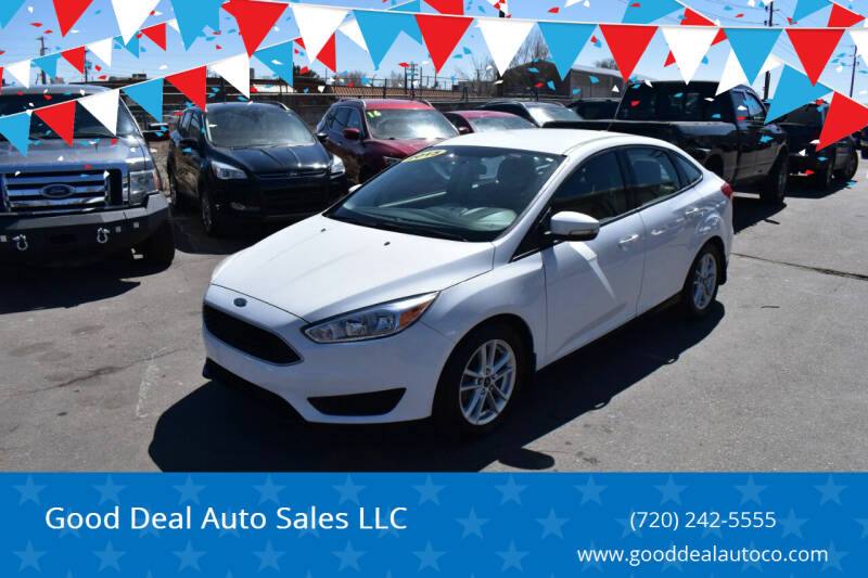 2015 Ford Focus for sale at Good Deal Auto Sales LLC in Denver CO