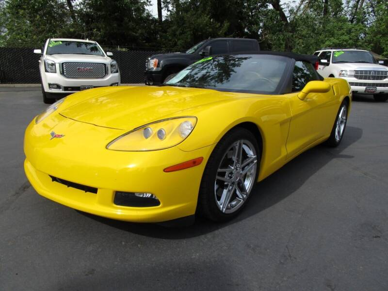 2005 Chevrolet Corvette for sale at LULAY'S CAR CONNECTION in Salem OR