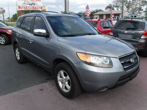 2007 Hyundai Santa Fe for sale at LEGACY MOTORS INC in New Port Richey FL