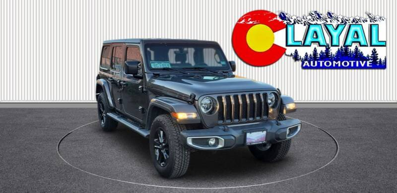 2021 Jeep Wrangler Unlimited for sale at Layal Automotive in Englewood CO