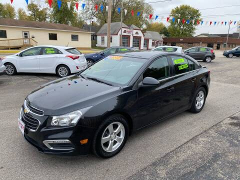 2015 Chevrolet Cruze for sale at PEKIN DOWNTOWN AUTO SALES in Pekin IL