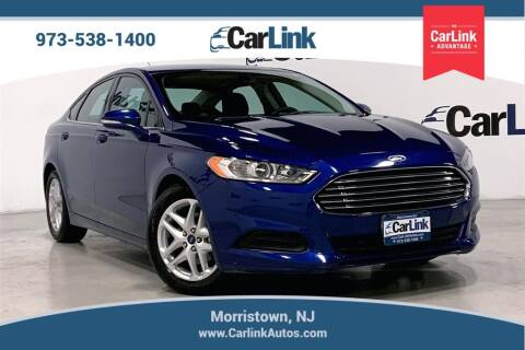 2015 Ford Fusion for sale at CarLink in Morristown NJ