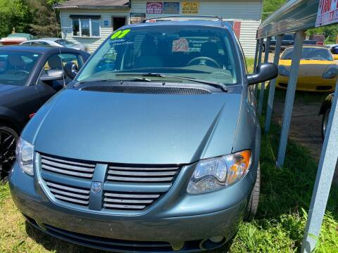 2007 Dodge Grand Caravan for sale at Richard C Peck Auto Sales in Wellsville NY