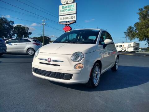 2014 FIAT 500 for sale at BAYSIDE AUTOMALL in Lakeland FL