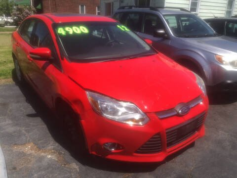 2012 Ford Focus for sale at Trinity Motors in Lackawanna NY
