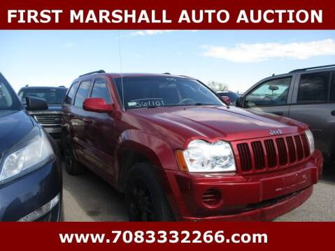 2005 Jeep Grand Cherokee for sale at First Marshall Auto Auction in Harvey IL