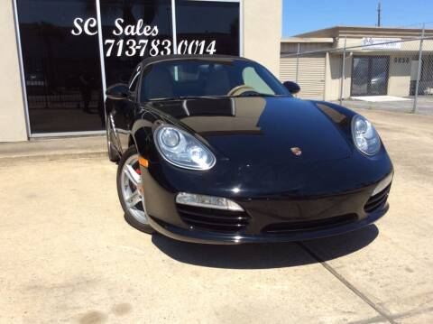 2010 Porsche Boxster for sale at SC SALES INC in Houston TX