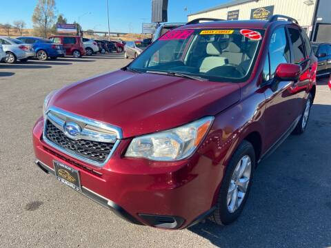2014 Subaru Forester for sale at BELOW BOOK AUTO SALES in Idaho Falls ID