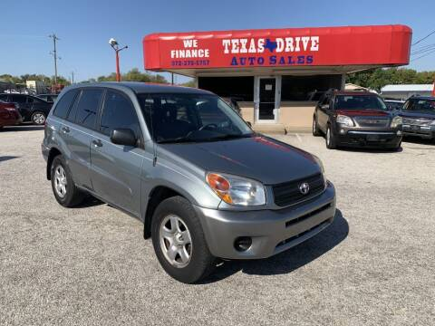 2005 Toyota RAV4 for sale at Texas Drive LLC in Garland TX