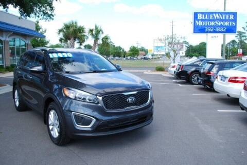 2017 Kia Sorento for sale at BlueWater MotorSports in Wilmington NC
