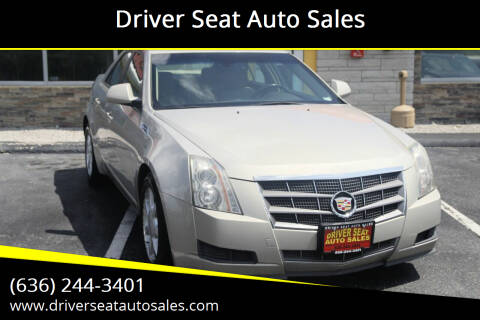 2009 Cadillac CTS for sale at Driver Seat Auto Sales in Saint Charles MO