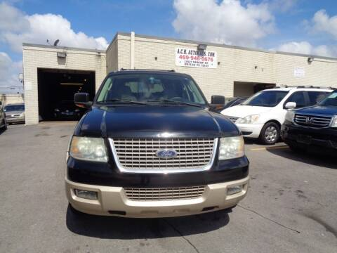 2006 Ford Expedition for sale at ACH AutoHaus in Dallas TX