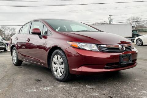 2012 Honda Civic for sale at Knighton's Auto Services INC in Albany NY