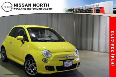 2015 FIAT 500 for sale at Auto Center of Columbus in Columbus OH