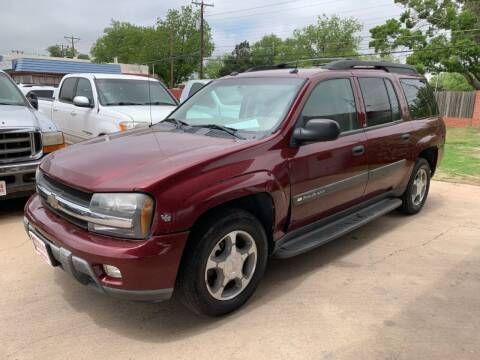 2004 Chevrolet TrailBlazer EXT for sale at KD Motors in Lubbock TX