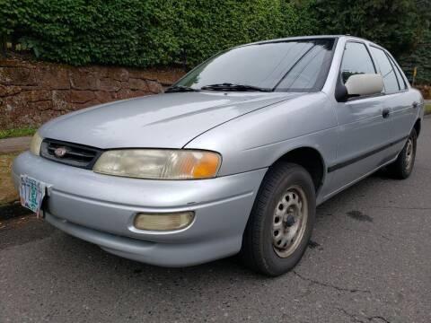 1997 Kia Sephia for sale at KC Cars Inc. in Portland OR