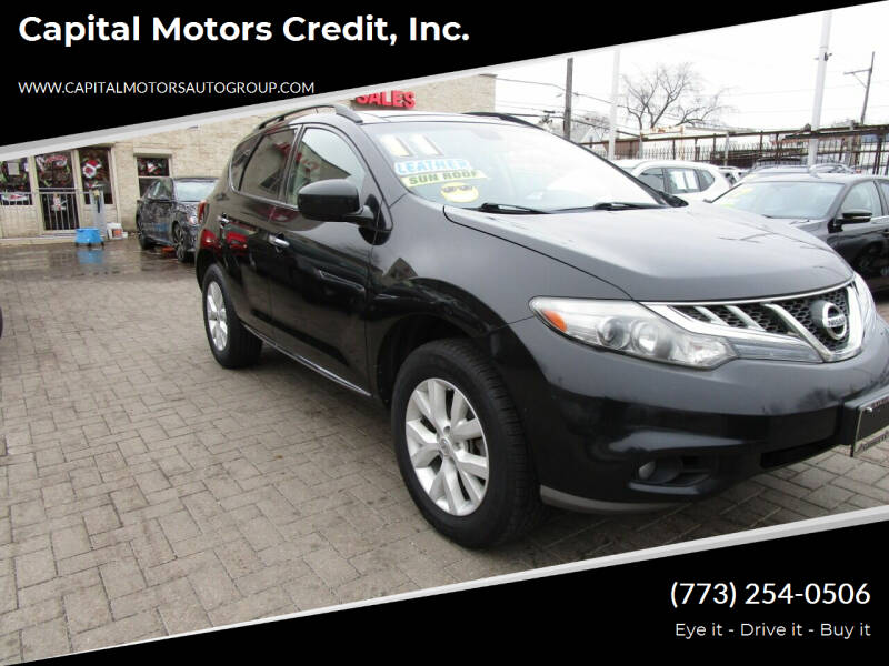 2011 Nissan Murano for sale at Capital Motors Credit, Inc. in Chicago IL