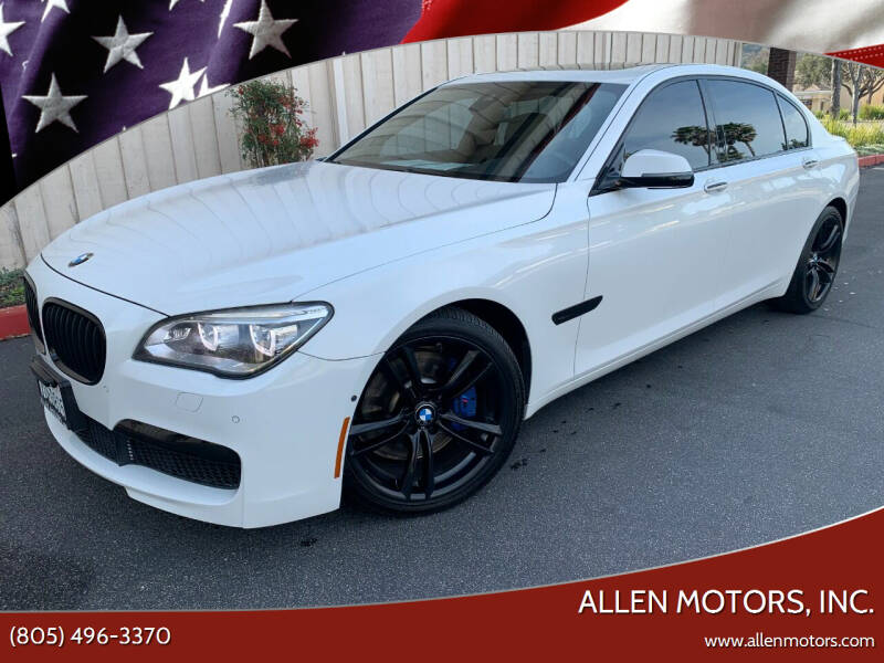 2014 BMW 7 Series for sale at Allen Motors, Inc. in Thousand Oaks CA