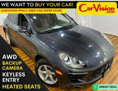 2017 Porsche Macan for sale at Car Vision Mitsubishi Norristown - Car Vision Philly Used Car SuperStore in Philadelphia PA